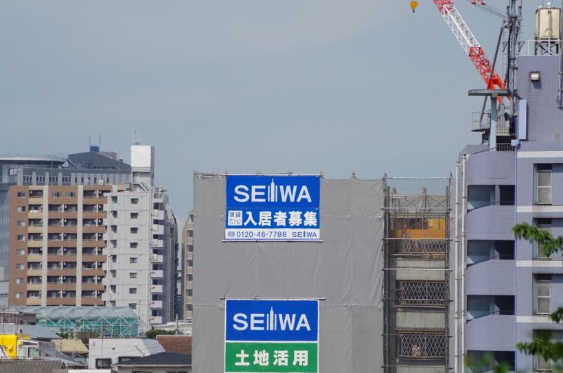 2013.06.22 日暮里富士見坂からの光景1