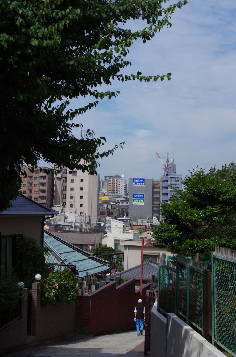 2013.06.22 日暮里富士見坂からの光景2