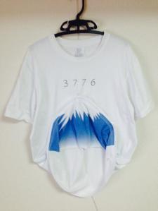 面白い富士山Tシャツ-2