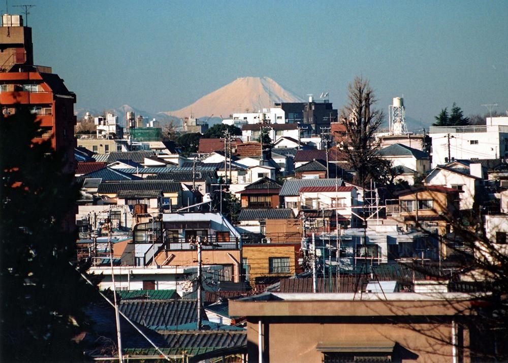 1990年1月1日 日暮里富士見坂か...