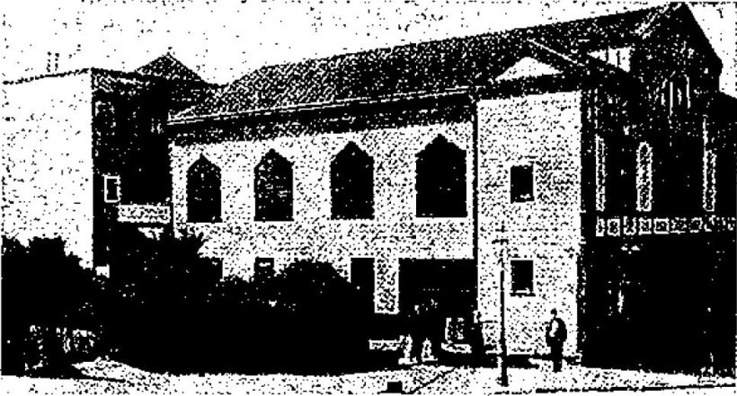 桑港日本人美以教会 サンフランシスコ大地震後のもの『米山梅吉記念館館報』より