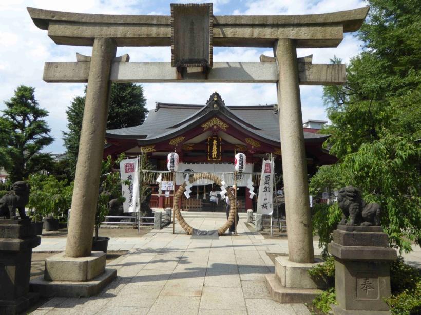 南千住・素戔嗚神社