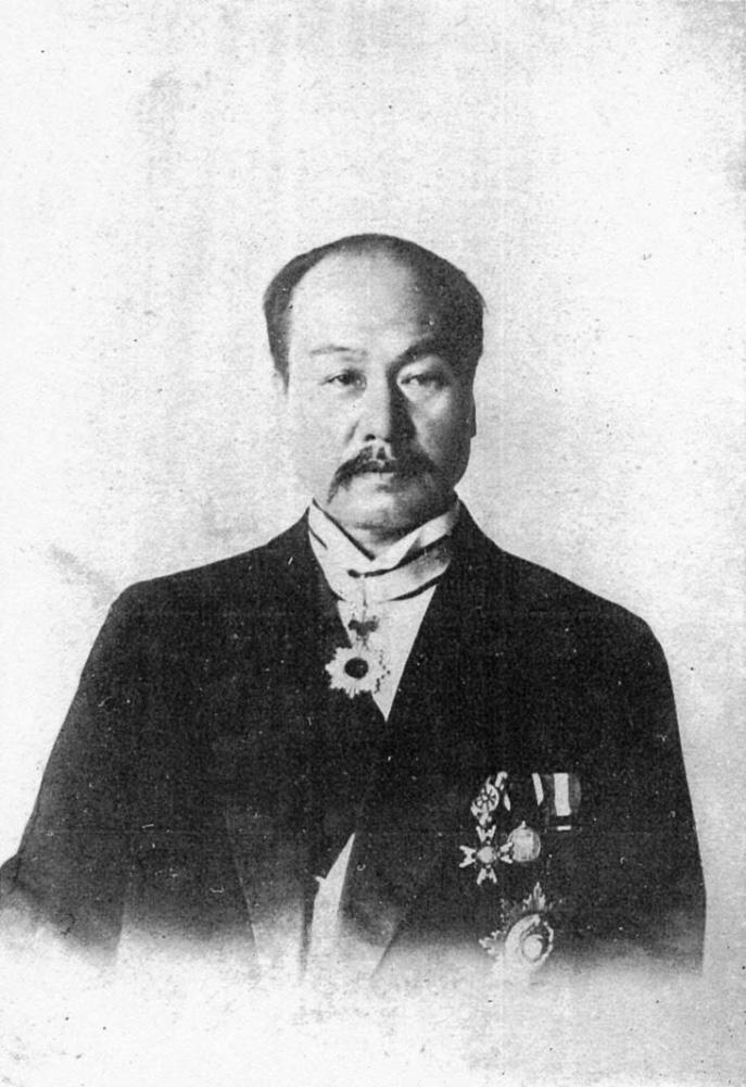 伊澤修二君還曆肖像『樂石自傳-教界周遊前記』より-wikipediaによる
