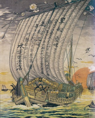 川越夜舟広告『埼玉県の歴史散歩』より