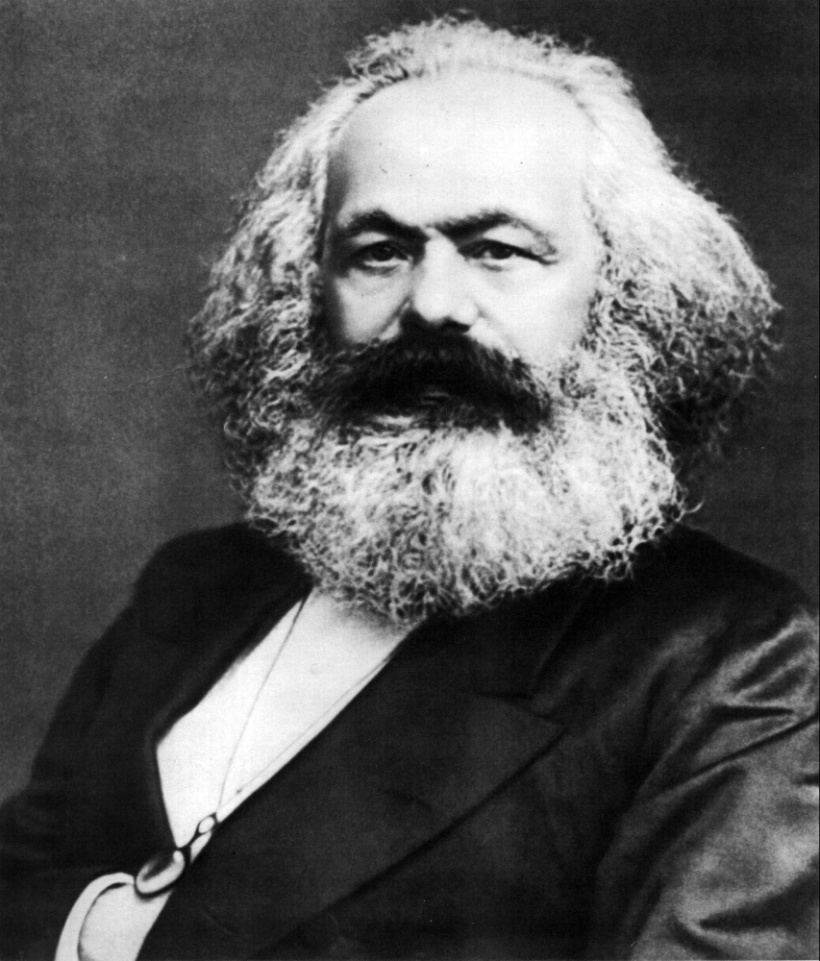 Karl-Marx(1875)-John-Jabez-Edwin-Mayal撮影-wikipediaによる