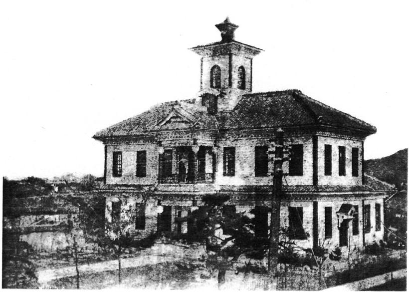 信夫警察署-1897年頃『図説福島市史』より