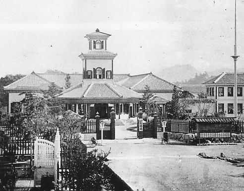 山形県庁 1877‐1911年 wikipediaによる